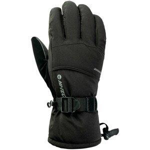 Zimní rukavice Hi-Tec Katan Velikost rukavic: S/M / Barva: černá