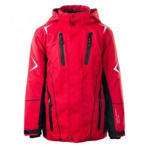 Dětská bunda Brugi 1AHC Velikost: 134-140 / Barva: červená