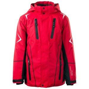 Dětská bunda Brugi 1AHC Velikost: 146-152 / Barva: červená