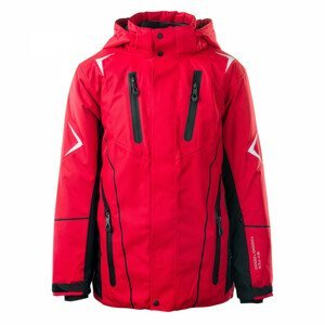 Dětská bunda Brugi 1AHC -Velikost: 170-176 / Barva: červená