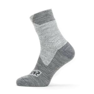 Nepromokavé ponožky SealSkinz WP All Weather Ankle Velikost ponožek: 39-42 / Barva: šedá