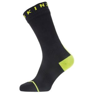 Nepromokavé ponožky SealSkinz WP All Weather Mid + Hyd Velikost ponožek: 39-42 / Barva: černá