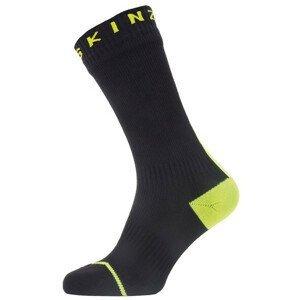 Nepromokavé ponožky SealSkinz WP All Weather Mid + Hyd Velikost ponožek: 43-46 / Barva: černá