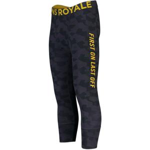 Pánské funkční kalhoty Mons Royale Shaun-off 3/4 Legging Velikost: L / Barva: šedá/žlutá
