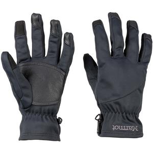 Pánské rukavice Marmot Connect Evolution Glove Velikost rukavic: L / Barva: černá