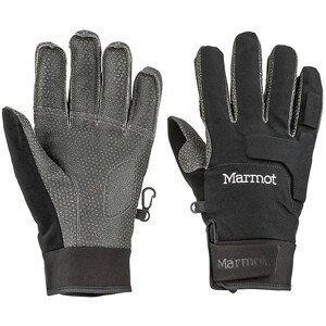 Pánské rukavice Marmot XT Glove Velikost rukavic: M / Barva: černá