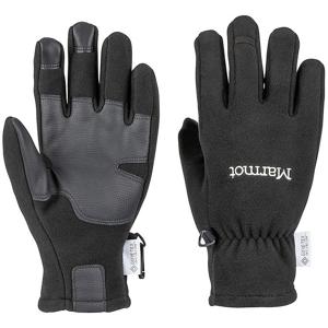 Dámské rukavice Marmot Infinium Windstop Glove Velikost rukavic: L / Barva: černá
