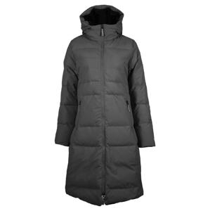 Dámský kabát Skhoop Long Down Jacket Velikost: M (38) / Barva: černá