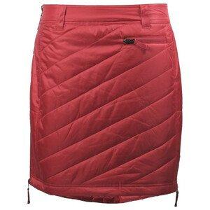 Zimní sukně Skhoop Sandy Short Velikost: M (38) / Barva: červená