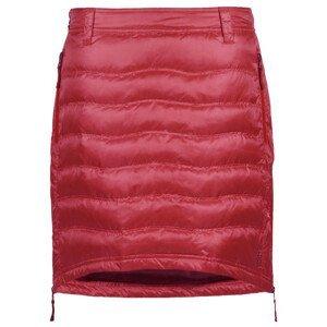 Péřová sukně Skhoop Short Down Velikost: XL (42) / Barva: červená