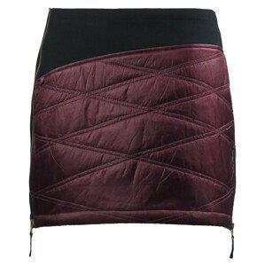 Zimní sukně Skhoop Primaloft® Karolin Velikost: XS (34) / Barva: vínová