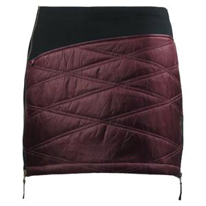 Zimní sukně Skhoop Primaloft® Karolin Velikost: M (38) / Barva: vínová