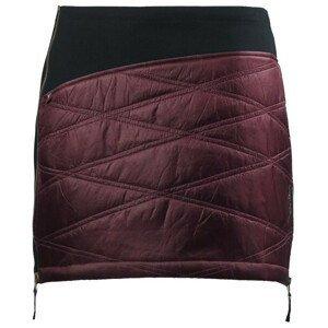 Zimní sukně Skhoop Primaloft® Karolin Velikost: L (40) / Barva: vínová