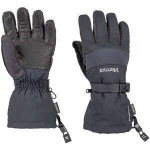 Pánské rukavice Marmot Randonnee Glove Velikost rukavic: XL / Barva: černá