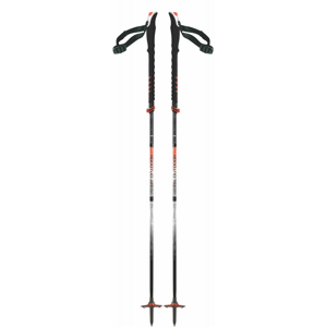 Hole TSL Connect Carbon 5 Cross Wt Swing Délka holí: 130 cm / Barva: červená/šedá