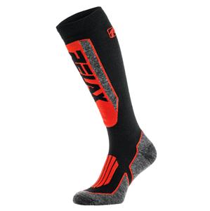 Lyžařské ponožky Relax Extreme Velikost ponožek: 39-42 / Barva: černá/červená