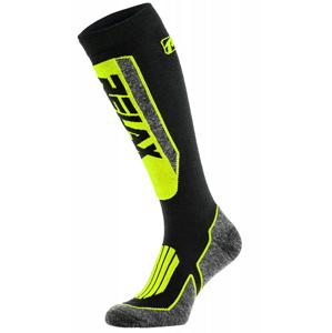 Lyžařské ponožky Relax Extreme Velikost ponožek: 39-42 / Barva: černá/zelená