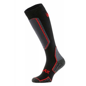 Lyžařské ponožky Relax Carve Velikost ponožek: 43-46 / Barva: černá/červená