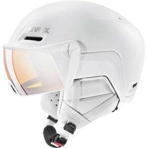 Lyžařská přilba Uvex HLMT 700 Visor Velikost helmy: 55-59 cm / Barva: bílá