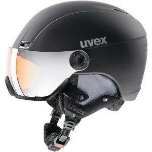 Lyžařská přilba Uvex HLMT 400 Visor style Velikost helmy: 58-61 cm / Barva: černá