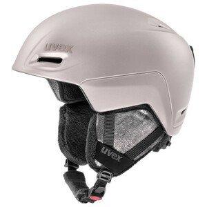 Lyžařská přilba Uvex Jimm Velikost helmy: 52-55 cm / Barva: stříbrná