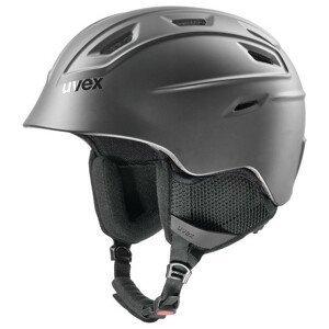 Lyžařská přilba Uvex Fierce Velikost helmy: 59-61 cm / Barva: černá
