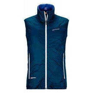Pánská vesta Ortovox Swisswool Piz Cartas Vest M Velikost: L / Barva: tmavě modrá