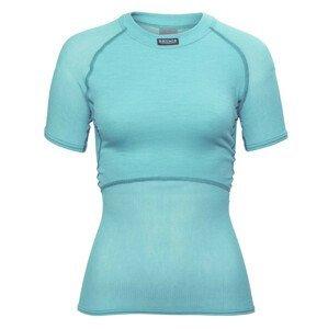 Funkční triko Brynje of Norway Lady Wool Thermo light T-Shirt Velikost: L / Barva: světle modrá