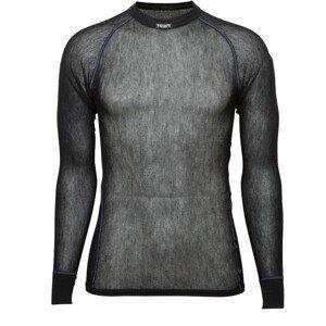 Brynje of Norway Pánské funkční triko Brynje Wool Thermo light Shirt Velikost: L / Barva: černá