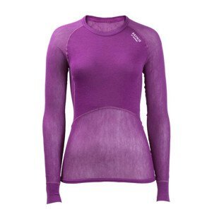 Funkční triko Brynje of Norway Lady Wool Thermo light Shirt Velikost: S / Barva: fialová