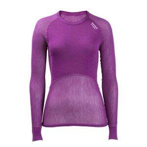Funkční triko Brynje of Norway Lady Wool Thermo light Shirt Velikost: L / Barva: fialová