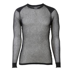 Brynje of Norway Pánské funkční triko Brynje Wool Thermo Shirt Velikost: XXL / Barva: černá