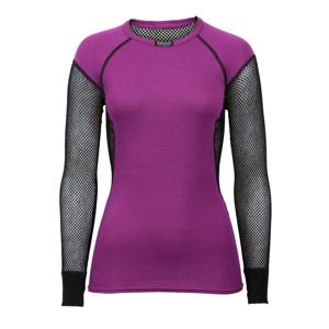 Brynje of Norway Dámské funkční triko Brynje Lady Wool Thermo Shirt Velikost: S / Barva: fialová