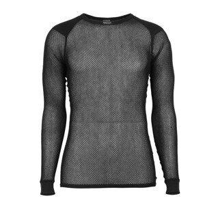 Brynje of Norway Pánské funkční triko Brynje Super Thermo Shirt w/inlay Velikost: M / Barva: černá