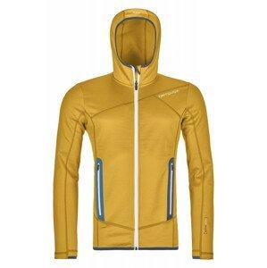 Pánská mikina Ortovox Fleece Hoody Velikost: L / Barva: žlutá