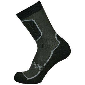 Ponožky Sherpax Pyramid Velikost ponožek: 39-42 / Barva: šedá