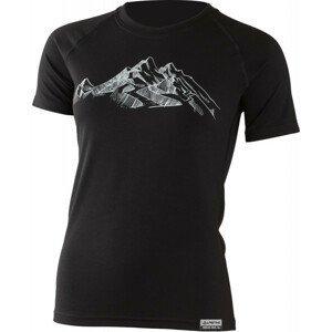 Dámské funkční triko Lasting Hill Velikost: M / Barva: černá