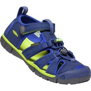 Dětské sandály Keen Seacamp II CNX JR Dětské velikosti bot: 39 / Barva: modrá