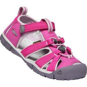 Dětské sandály Keen Seacamp II CNX JR Dětské velikosti bot: 38 / Barva: růžová