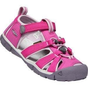 Dětské sandály Keen Seacamp II CNX JR Dětské velikosti bot: 39 / Barva: růžová
