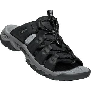 Pánské pantofle Keen Targhee III Slide Velikost bot (EU): 44,5 / Barva: černá