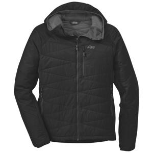 Pánská bunda Outdoor Research Men's Cathode Hooded Jacket Velikost: L / Barva: černá