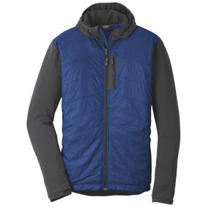 Pánská bunda Outdoor Research Men's Deviator Hoody Velikost: L / Barva: tmavě modrá