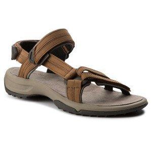 Dámské sandály Teva Terra Fi Lite Leather Velikost bot (EU): 41 / Barva: hnědá