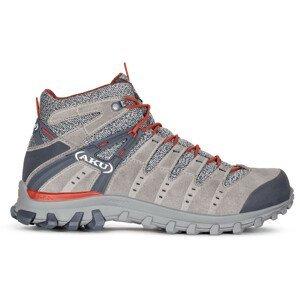 Pánské boty Aku Alterra Lite Mid GTX Velikost bot (EU): 43 / Barva: šedá/červená