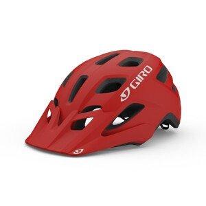 Cyklistická helma Giro Fixture Mat Velikost helmy: 54-56 cm / Barva: červená