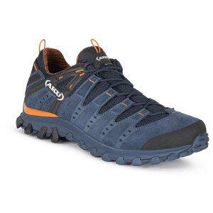 Pánské boty Aku Alterra Lite GTX Velikost bot (EU): 44,5 / Barva: modrá/oranžová