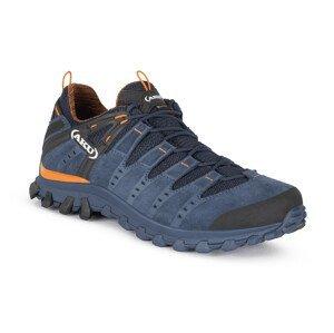 Pánské boty Aku Alterra Lite GTX Velikost bot (EU): 46,5 / Barva: modrá/oranžová