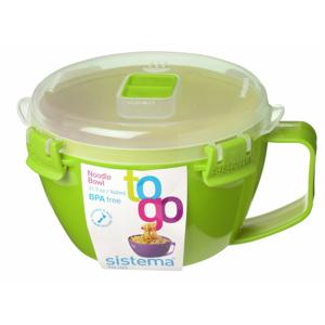 Miska na nudle Sistema Noodle Bowl To Go Barva: zelená