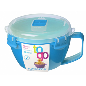 Miska na nudle Sistema Noodle Bowl To Go Barva: modrá